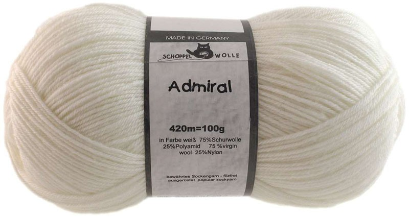 Admiral 990 weiß